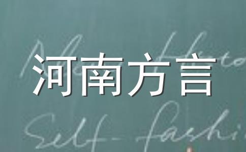 开封方言词语